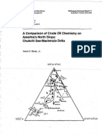 A Comparison of Crude Oil Chemistry on America's North Slope- Chukchi Sea-Mackenzie Delta (BLM-Alaska Technical Report) 1994