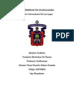 Cuaderno Electronico de Quimica Analítica