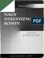 Nagy Nyelvvizsgakönyv-Középfok-Angol