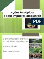 Ação Antrópica No Equilibrio Ambiental Completo