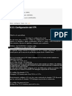 Para Configurar VTP