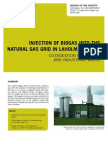 Injection of Biogas Into the Natural Gas Grid in Laholm, Sweden