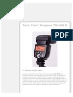 Test Flash Yongnuo YN-560 II