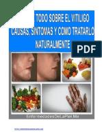 Vitíligo Causas Síntomas y Como Tratarlo