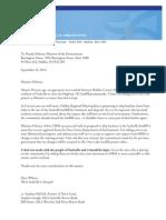 Sackville Landfill letter from Dave Wilson