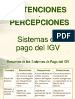 Retenciones Percepciones Igv- Clase