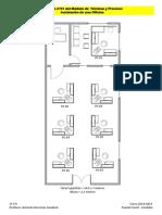 Visio-Práctica Nº 01-Instalaciónes en Una Oficina