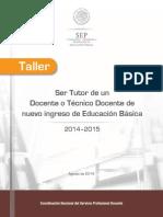 Taller Tutor 280814