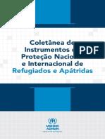 Lei 947 97 e Coletanea de Instrumentos de Protecao Internacional de Refugiados e Apatridas
