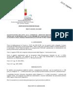 """Comune di Napoli - DISPOSIZIONE DIRIGENZIALE  PROT.N.290 DEL 29/12/2009 BANDO PER LA COPERTURA, MEDIANTE PROCEDURA DI PROGRESSIONE  VERTICALE DI N.146 POSTI DI CATEGORIA """"C"""", I LIVELLO  ECONOMICO, PER IL PROFILO PROFESSIONALE DI ISTRUTTORE AMMINISTRATIVO - [ndr"""