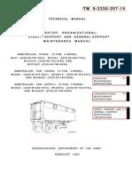 TM 9-2330-207-14   SEMITRAILER, STAKE M127, VAN M128, VAN SUPPLY M129