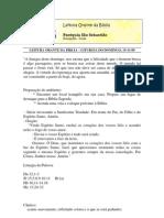 LEITURA ORANTE 15-11-09