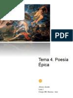 4. La Poesía Épica