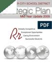 Strategic Plan Mid-Year Update 2009