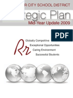 Strategic Plan Mid-Year Update 2009