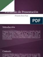 Portafolio de Presentación - Doris Trejo
