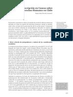 HORVITZ - Amnistía y Prescripción en Causas Sobre Derechos Humanos en Chile