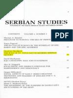 Dimitrije Djordjevic -The Role of St. Vitus Day in Modern Serbian History