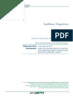 Anafilaxia - Diagnostico