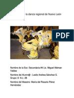 Elementos de La Danza Regional de Nuevo León