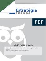 AFO - Auditor e Analista Cargos 5 e 7 - Aula 07