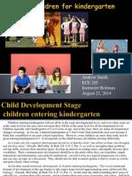 Preparing Children for Kindergarten - School Readiness