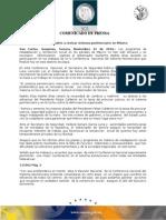 12-11-2010 El Gobernador Guillermo Padrés participó en los trabajos de la IV conferencia nacional del sistema penitenciario que finalizó hoy en este destino de playa. B111062