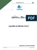 Apostila Calc OpenOffice