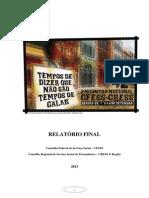 Relatorio Nacional 2013