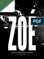 Woodside, J. (2014) - Zoé. ¿La banda más grande de México en la actualidad?