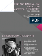 Nations and Nationalism since 1780-Eric Hobsbawm PP