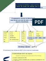 A BE nos Relatórios de Avaliação Externa da IGE