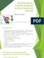Movilización Del Conocimiento Mediante Prácticas Educativas Abiertas