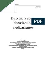 Directrices Sobre Medicamentos 1996[1]