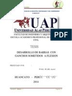 C°A°1-POMA HUARI Anabel-DESARROLLO DE BARRAS CON GANCHOS SOMETIDOS A FLEXION