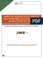 Bases Ads Nº 012-2014 Obras Agua Potable Muzga