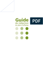 Guide Redactionplan Affaire CLD
