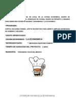 Proyecto Cocina Economica