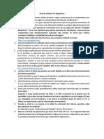 Guía de Software de Diagnostico