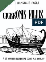Paoli - Ciceronis filius.pdf