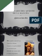 Personajes Del Quijote de La Mancha