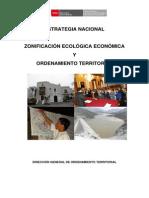 Estrategia Nacional de Zonificacion Ecologica Economica