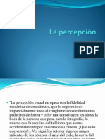 El Sistema Perceptual