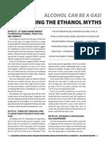 Busting the Ethanol Myth