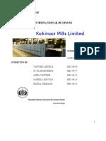 Kohinoor Mills Limited