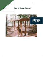 Auburn Deer Feeder