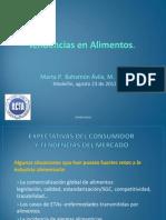 Conferencia Tendencias Alimentos 2012-1