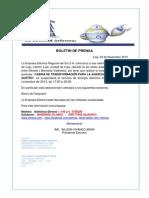 Boletin de Prensa 229