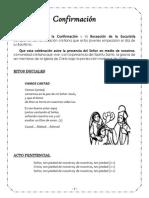 Folleto Confirmacion 2014 - Colegio NSC