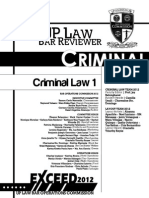 Criminal Law (Book 1)
